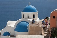 Saint Nicholas Church, Oia, Santorini, Greece
