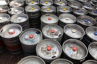 Assorted Beers in Kegs delivered to Camden Drinking Establishment - London UK