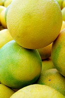Close up shot of lemons