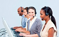 Assertive customer service representatives in a call_center