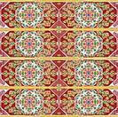 floral thai style mosaic