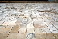 Marble flooring Taj Mahal