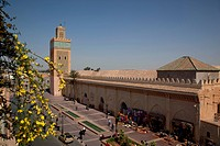 Africa, North Africa, Morocco, Marrakesh, D´El Mansour Mosque