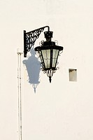 retro street light