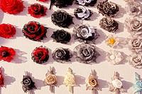 handmade linen roses