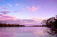 river murray sunset