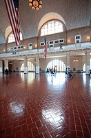 USA, New York, Ellis Island, Ellis Island Immigration Museum