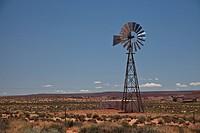 Desert views in Monument Valley.