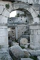 Roman theater in Xanthos
