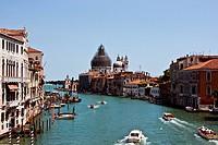 Main canal of Venice. Italy.