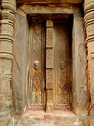 The door at angkor wat, Cambodia