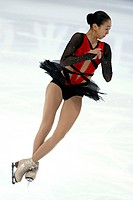 2011 World Figure Skating Championships. Japan´s Miki Ando performing a short program in the ladies´ singles of the 2011 World Figure Skating Champion...