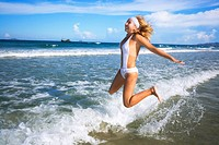 Jumping over waves