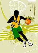 background basketball