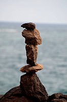 Rock Pile or Pepple sculpture
