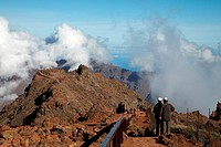 Roque de los Muchachos, Caldera de Taburiente National Park, La Palma, Canary Islands, Spain.
