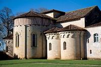 Abbey of Flaran, France.