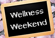 Wellness Weekend _ Relax Concept