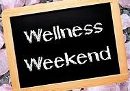 Wellness Weekend _ Relax Concept