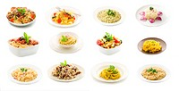 Pasta and Rice dishes _ Collage