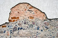 historical cracked wall background