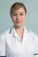 Portrait of hospital nurse