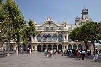Port Authority, Port de Barcelona, Port Vell, Barcelona, Catalonia, Spain, Europe, PublicGround