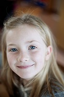 Portrait of happy young girl 8_9