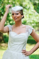 beautiful bride outdoor