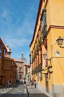 Sacramento street. Madrid, Spain.