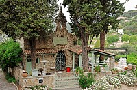 La Petite Chapelle Restaurant, Saint-Paul de Vence, Alpes-Maritimes department, Provence-Alpes-Cote d'Azur, Southern France, France, Europe, PublicGro...