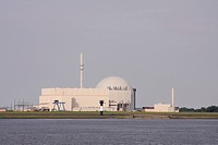 Brokdorf nuclear power plant, Schleswig-Holstein, Germany, Europe
