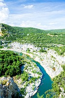 Ardeche Gorge, Rhone_Alpes, France