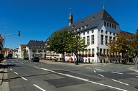 Town Hall, Ruesselsheim, Hesse, Germany, Europe, PublicGround