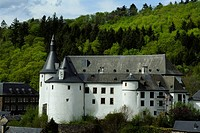 Clervaux Castle, Clervaux, Luxembourg, Europe