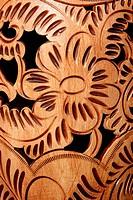 texture of ceramics, carving