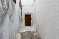 Door in tunisian city Hammamet