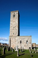 St Rules Tower St Andrews Fife Scotland