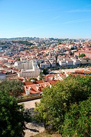 Cityscape of Lisbon in Portugal