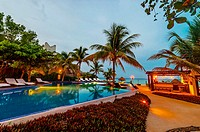 Twilight, Le Reve Hotel, Riviera Maya, Quintana Roo, Mexico