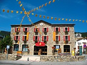 Town hall, Les Angles, Languedoc-Roussillon, Eastern Pyrenees, France