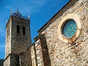 Church of Les Angles, Languedoc-Roussillon, Eastern Pyrenees, France