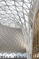 The new Western Concourse at King's Cross was officially opened by Boris Johnson, Mayor of London and The Rt Hon Justine Greenin