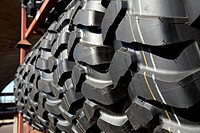 Tyres in Prague factory of Mitas company Mitas, the leading group in rubber industry in the Czech Republic, focusses on production of tyres for agricu...
