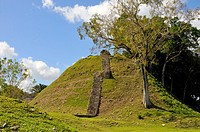 Altun Ha Mayan Ruins Belize City Central America