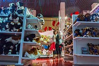 New York, People Shopping, Fifth Avenue, 59th Streets, FAO Schwartz Toy Store, Manhattan
