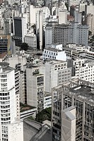 Skyline of Sao Paulo, Brazil, South America
