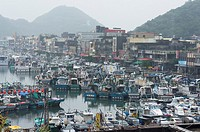 Golden Matsu fishing port, Taiwan