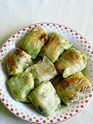 Greek cuisine, stuffed cabbage leaves, dolma