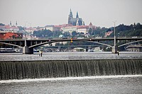 Stefanikuv bridge, Stefanik´s, Prague Pictured on September 1, 2011 CTK Photo/Martin Sterba